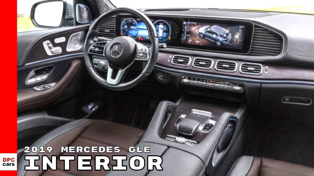 2019 Mercedes Gle Gle450 Interior Youtube