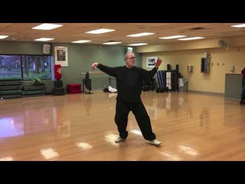 Alan Byar performing Tai Chi 24, Tai Chi 42, Sword 32, 7