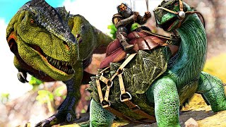 I Swear This T-REX Has the Ability to TELEPORT! | ARK MEGA Modded Annunaki REBORN #4