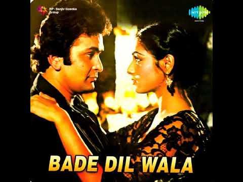 Tujh Mein Kya Hai. Bade Dil Wala (1983) Kishore Kumar & Lata Mangeshkar. R D Burman (Pancham)