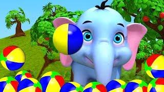 Hathi Dada   हाथी दादा   Hindi Rhymes For Babies   Hindi Balgeet   Hindi Rhymes   Nursery Rhymes