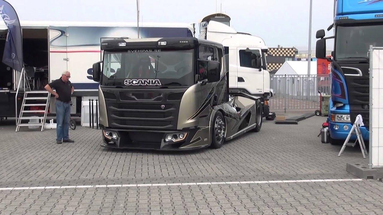 Scania Road Race Truck CHIMERA Bij Truck Festival Assen