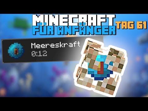Unendlich Viel Luft Unter Wasser Mit Dem Aquisator In Minecraft | Minecraft Für Anfänger Tag 61