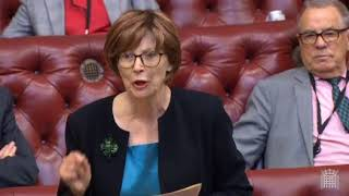 Baroness Hollis speaks about how all the promises of #UniversalCredit have been broken