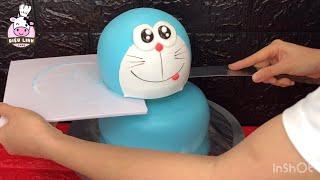 Làm bánh kem Doraemon 3D không khó - Dieulinhcake