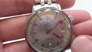 Rare vintage Milus compressor diver watch