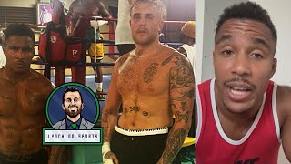 Jake Paul brought in Bellator vet Anthony Taylor for Tyron Woodley