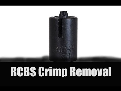 RCBS Crimp Removal And The Frankford Arsenal Case Prep Center
