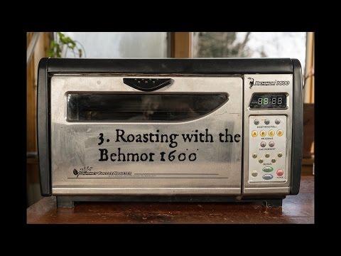 3  Behmor Cocoa Roasting
