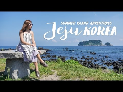 Jeju Korea ◇ Summer Island Travel Adventure