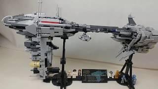 #17 LEPIN 05083 EF76 NEBULON-B Escort Frigate (MOC from LEGO IDEAS)