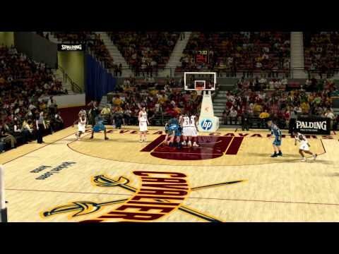 nba 2k12 association mode highlights my player jumps on the free throw line youtube. Black Bedroom Furniture Sets. Home Design Ideas