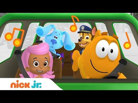 Nick Jr.'s Traffic Jams 🚗🎶 W/ Blue's Clues & You, Bubble Guppies & PAW Patrol