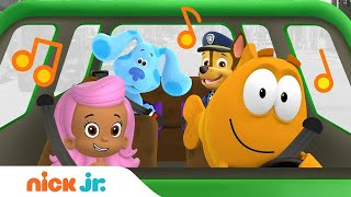 Nick Jr.'s Traffic Jams 🚗🎶 w/ Blue's Clues & You, Bubble Guppies & PAW Patrol