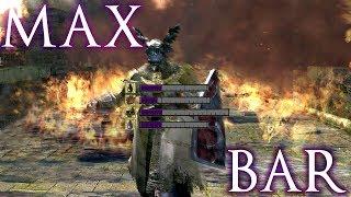 Longest Possible BAR in Dark Souls?