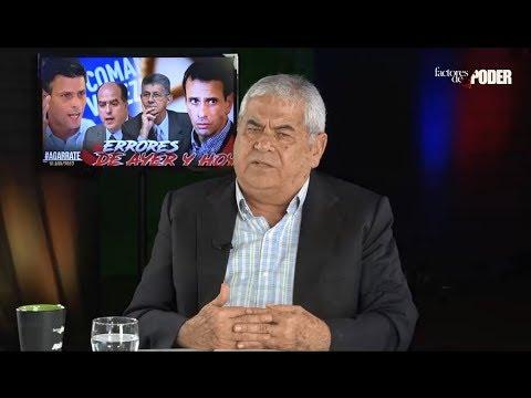¡SE QUEDA CORTO! ASÍ DESCALIFICA CARLOS ORTEGA AL RÉGIMEN DE NICOLÁS MADURO