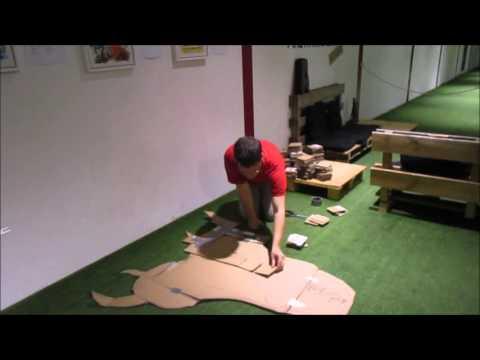 archery-in-valletta:-making-a-dragon---building-the-head