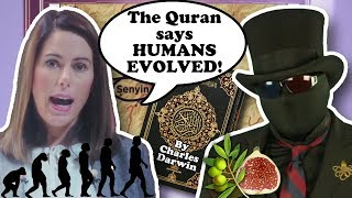 Human evolution is in the Quran because figs and olives (ThereIsNoClash response)