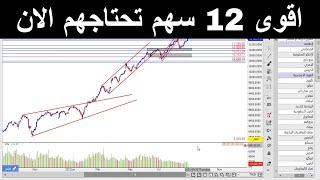 افضل 12 سهم تحتاجهم الان في السوق السعودي 📈