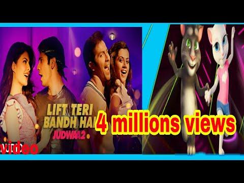 Lift Teri Bandh Hai Judwaa 2 Talking Tom Song 2017.