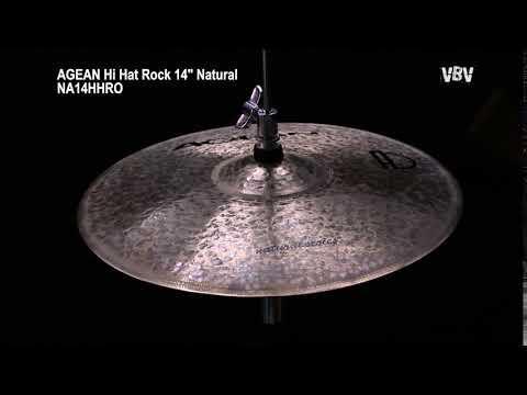 """14"""" Hi Hat Rock Natural video"""