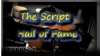 ROBLOX MUSIC VIDEO! (The Script - Hall of Fame!) | TheNeonPrankster