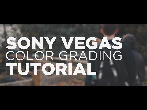 Cinematic Color Grading | Sony Vegas Colour Grading Tutorial