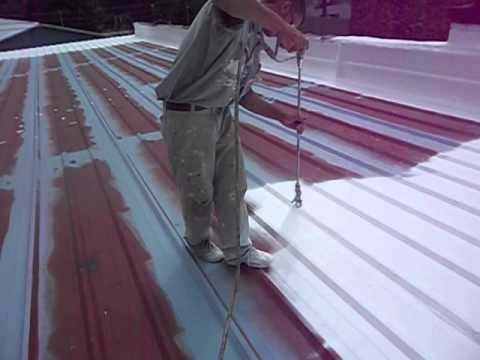 Painting Metal Roof Part 2 By Superior Roofing Indiana LLC