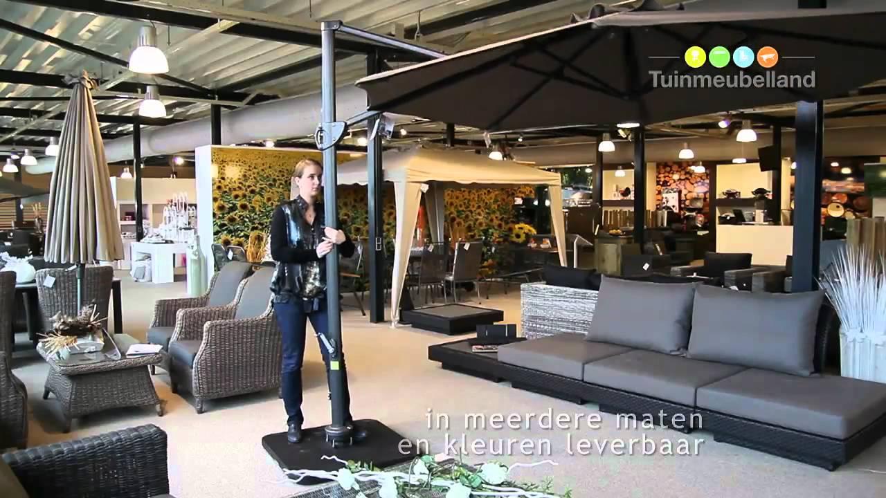 Hawaii Zweefparasol 350.Zweefparasol Hawaii Merk Garden Impressions Youtube