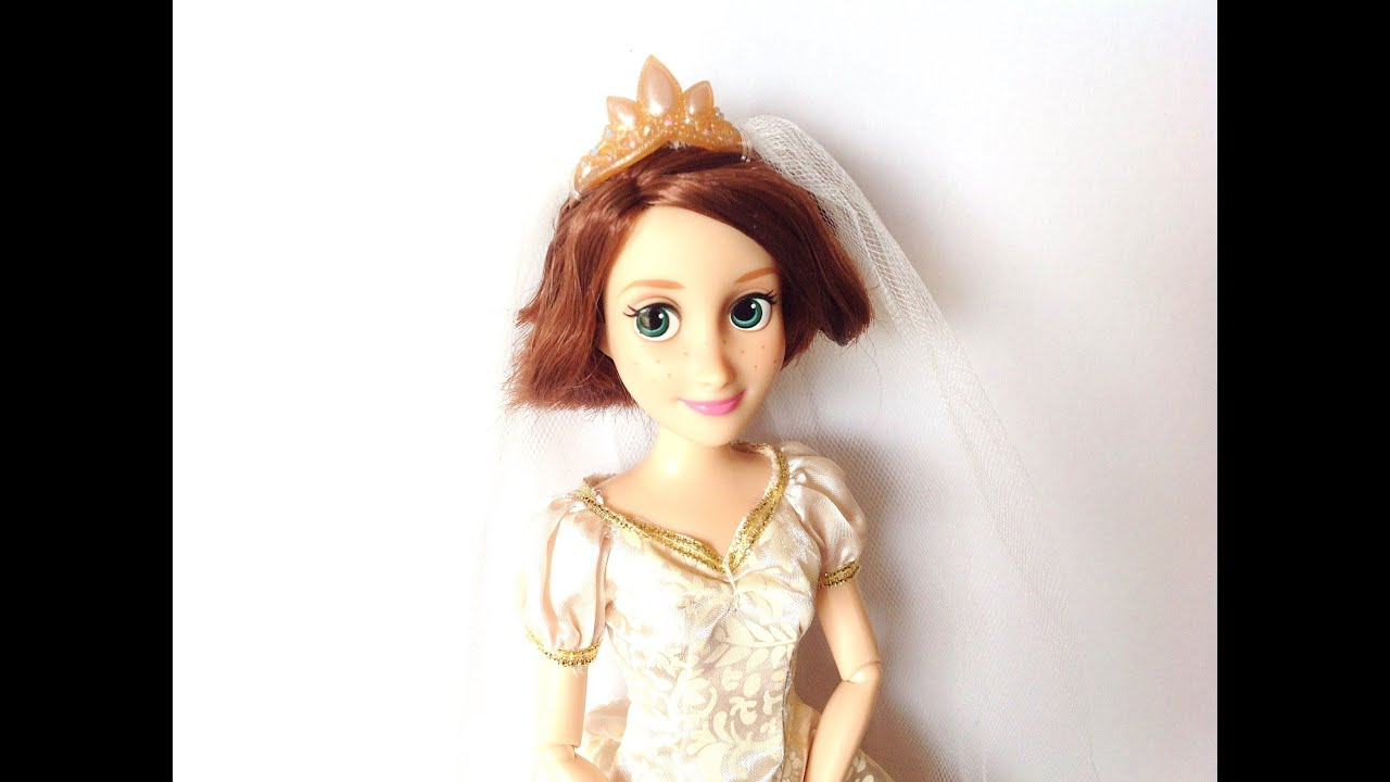 Disney Store Classic Doll Collection Tangled Wedding Rapunzel 2013 ...