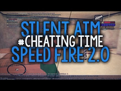 [SAMP 0.3.7] #CheatingTime - Silent Aim V10 And Speed Fire 2.0 ● Belciuu