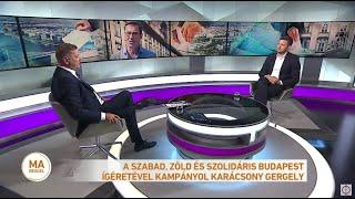 Folytatódik az ellenzéki belharc - plakátokon járatják le Puzsér Róbertet és Berki Krisztiánt