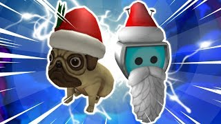 ALL CHRISTMAS ITEMS in ROBLOX! (Free?)