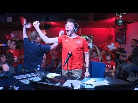 Suisse. la coupe du monde vue… à la radio!