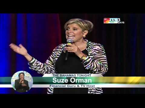 Suze Orman Visits The Bahamas