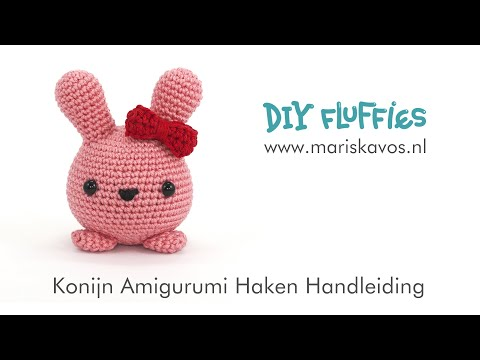Mimi The Konijn Amigurumi Haakpatroon Nederlands Youtube