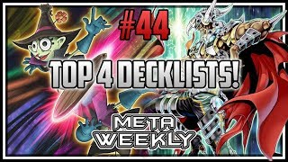 X-Sabers in the FINALS! Top 4 Decklists! Meta Weekly 44! [Yu-Gi-Oh! Duel Links]