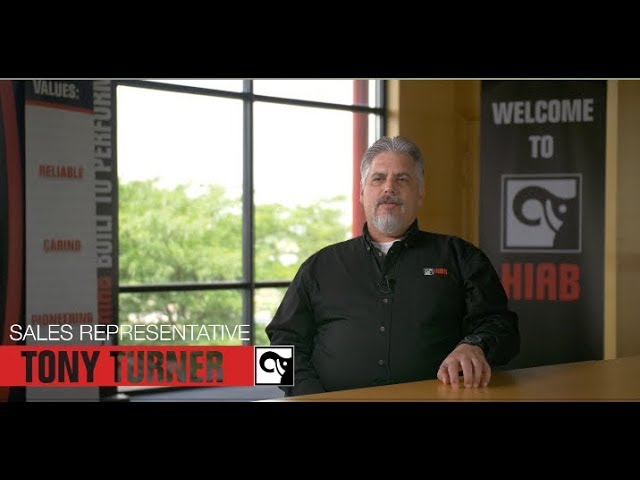 Tony Turner Talks About His Career Growth in Sales at Hiab USA