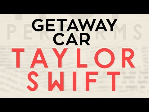 Getaway Car - Taylor Swift cover by Molotov Cocktail Piano
