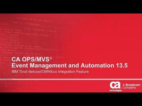 CA OPS/MVS: IBM Tivoli Netcool/Omnibus Integration Feature