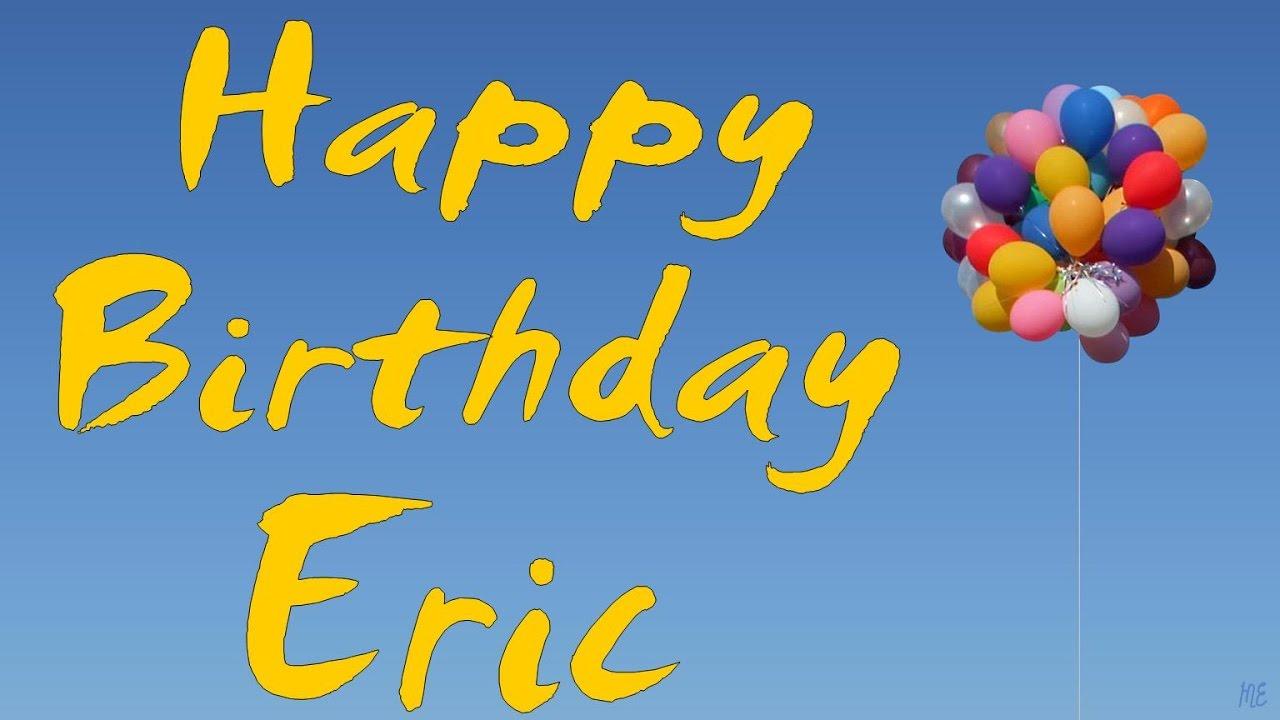 Поздравления с днем рождения для эрик