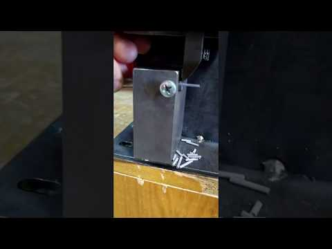 Станок для резки проволоки. Wire cutting, Wire bending