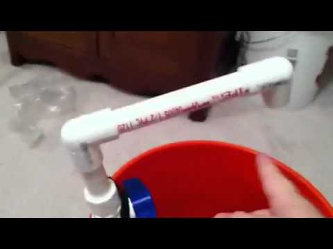 Homemade Portable Camping Sink Youtube