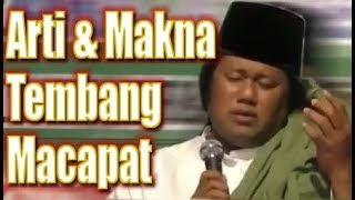 Download lagu Arti & Makna TEMBANG MACAPAT Ajaran Para Wali Ceramah GUS MUWAFIQ
