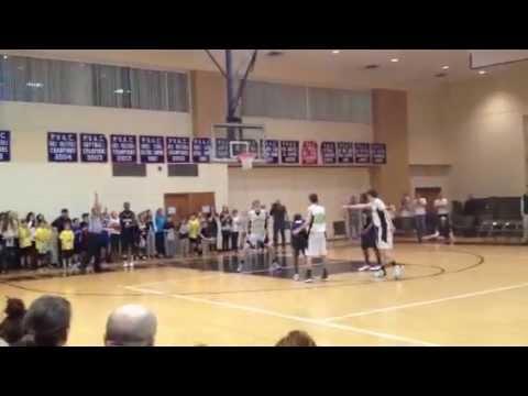 McLean Boys Varsity Basketball Team beats Covenant Life School 65-63
