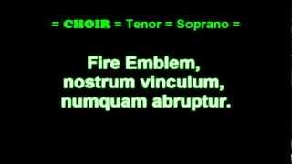 Fire Emblem Theme Super Smash Bros Brawl (SSBB) Latin - like Lyrics