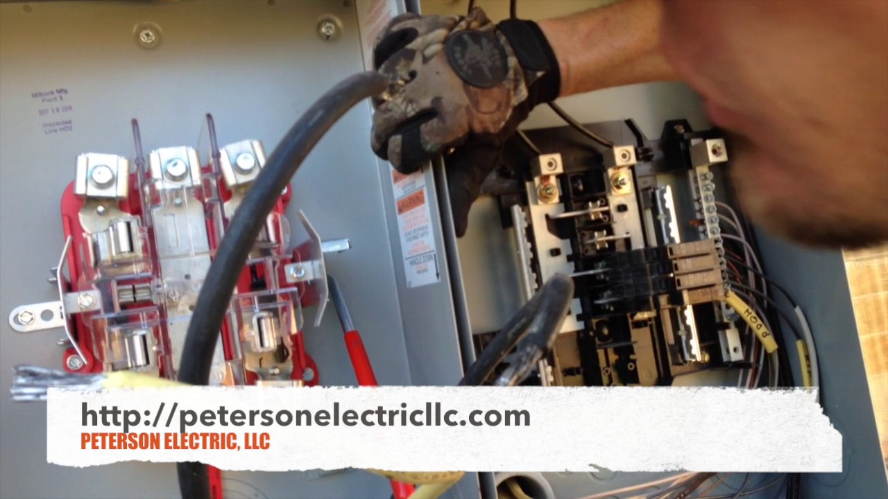 Electrical Service Change For Zinsco Panel, NEC Code & City Permit ...