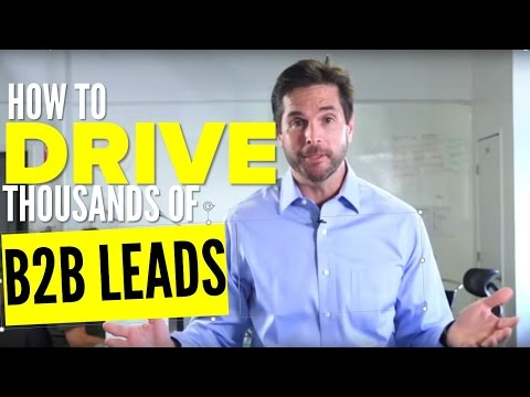 How We Drive Thousands of B2B Leads Using Video Marketing