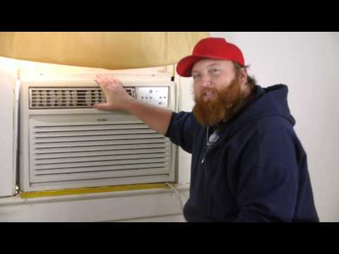 How To Stop Window Air Conditioner Vibrations : Air Conditioning