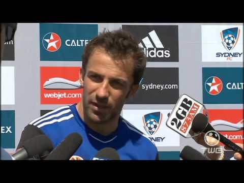 Alessandro Del Piero English Interview